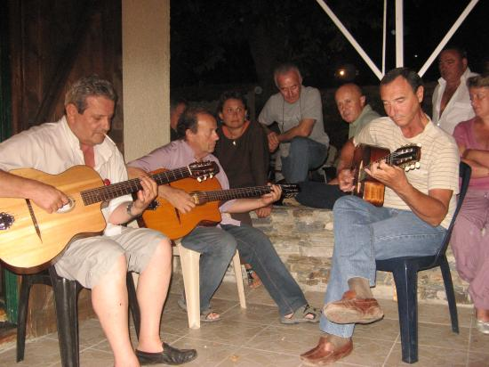 soiree guitares chez jean-laurent