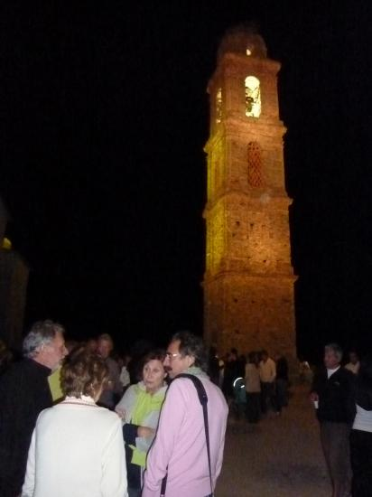 photo.17.illumination du clocher.20.07.2011