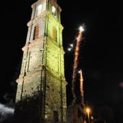 photo.22.illumination du clocher.20.07.2011
