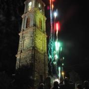 photo.19.illumination du clocher.20.07.2011
