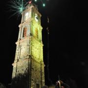 photo.14.illumination du clocher.20.07.2011