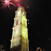 photo.16.illumination du clocher.20.07.2011
