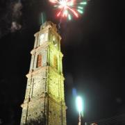 photo.20.illumination du clocher.20.07.2011